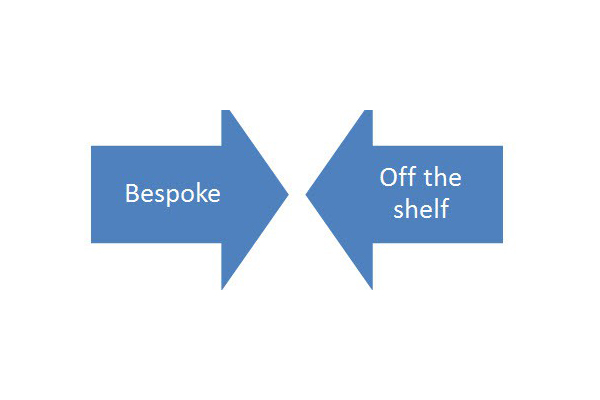 Blog - Bespoke vs Off-the-Shelf